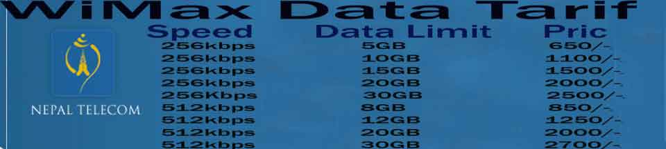 NTC launches WiMax Service in Nepal - TechnoNepal